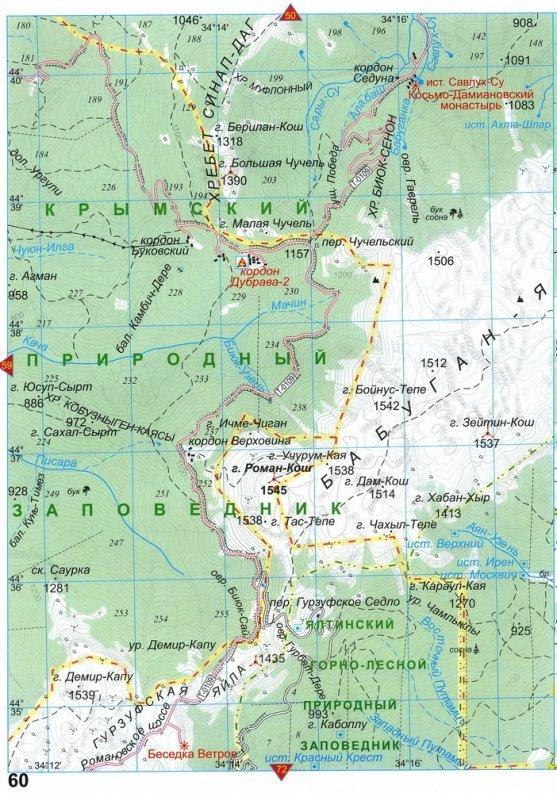 7+1 — подборка самых высоких гор Крыма