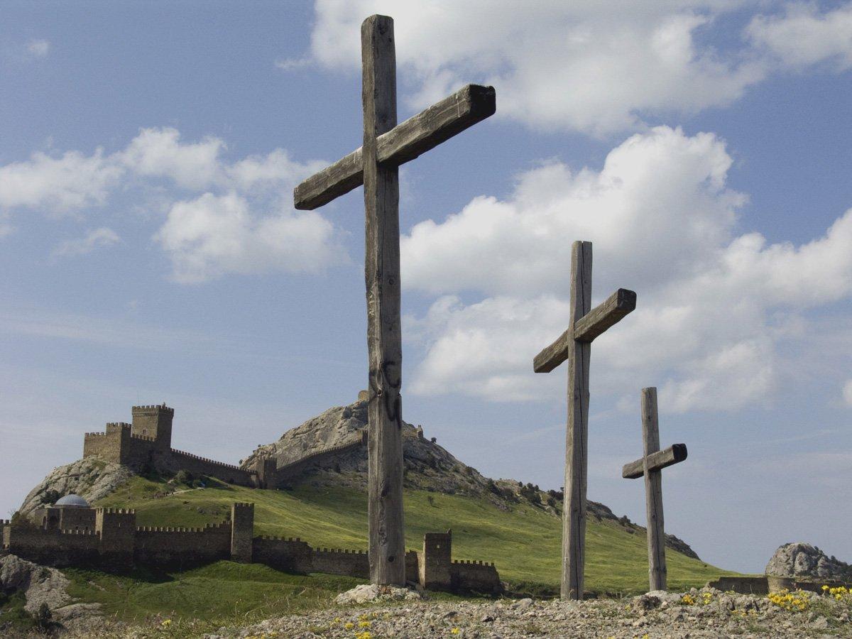 Самая известная Генуэзская крепость Крыма, Судак