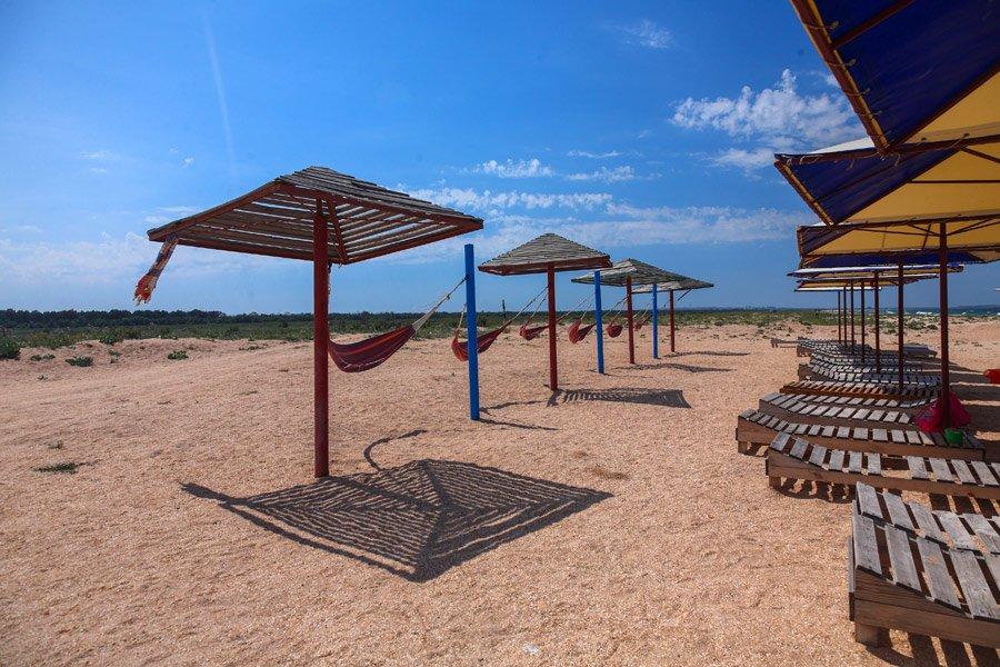 Пляжи в Песочном