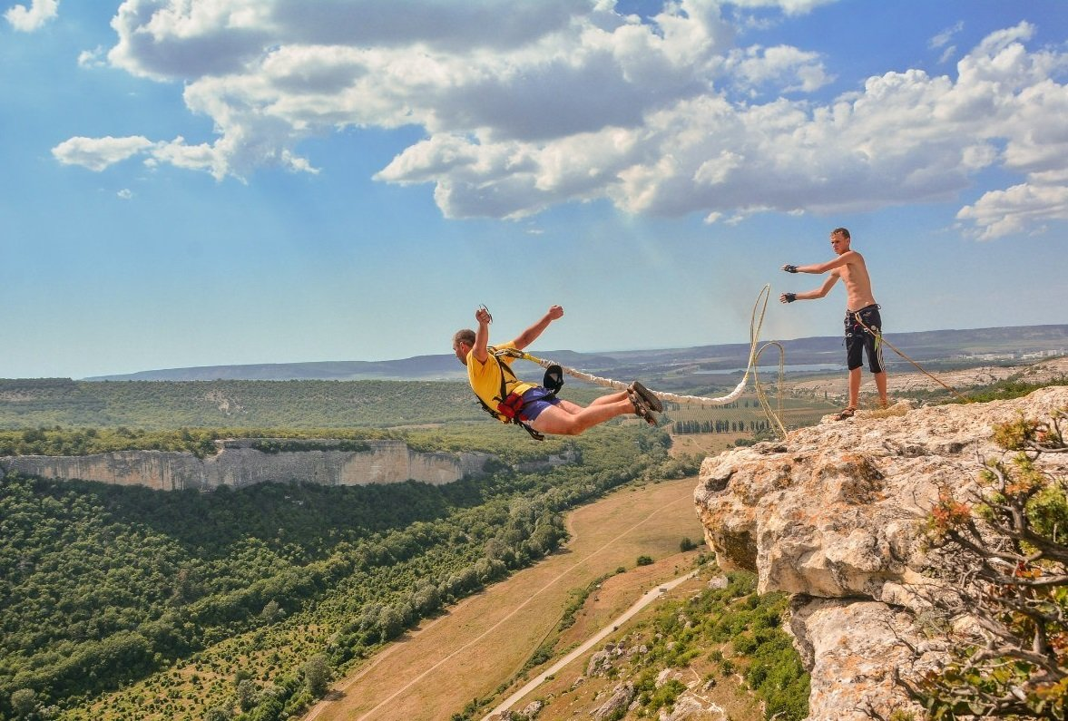 Экстремальный туризм в Крыму: топ-3 лучших развлечения