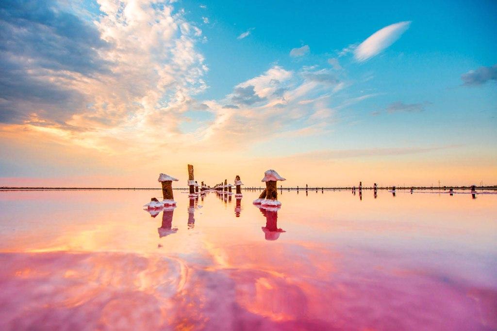 Крупнейшие озера Крыма
