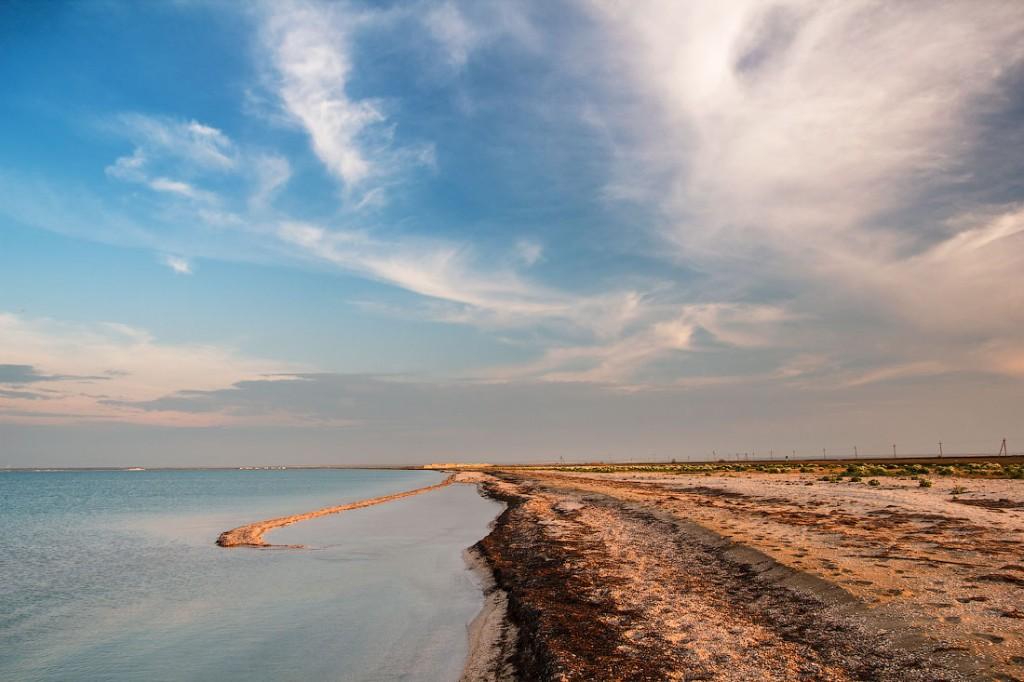 О пляжах и море в Стерегущем