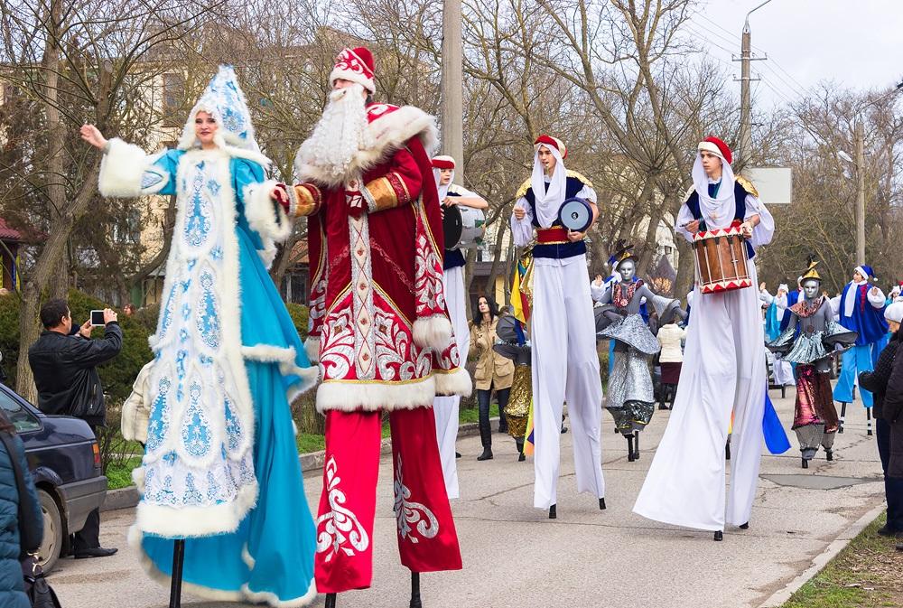 Еще несколько вариантов для празднования Нового года в Крыму