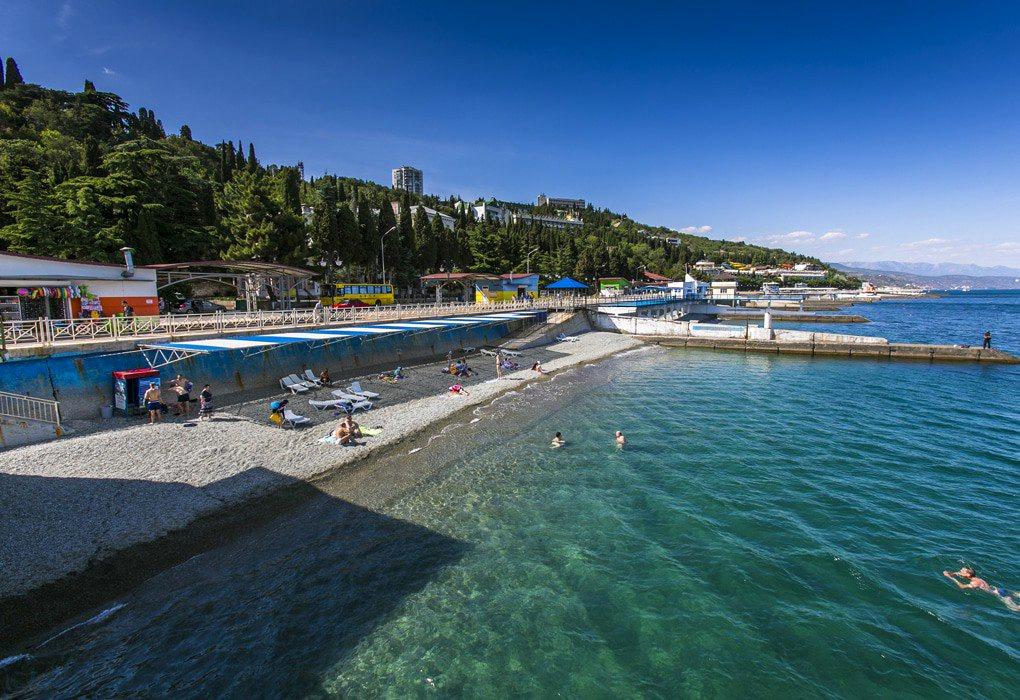 Пляжи Южного Крыма