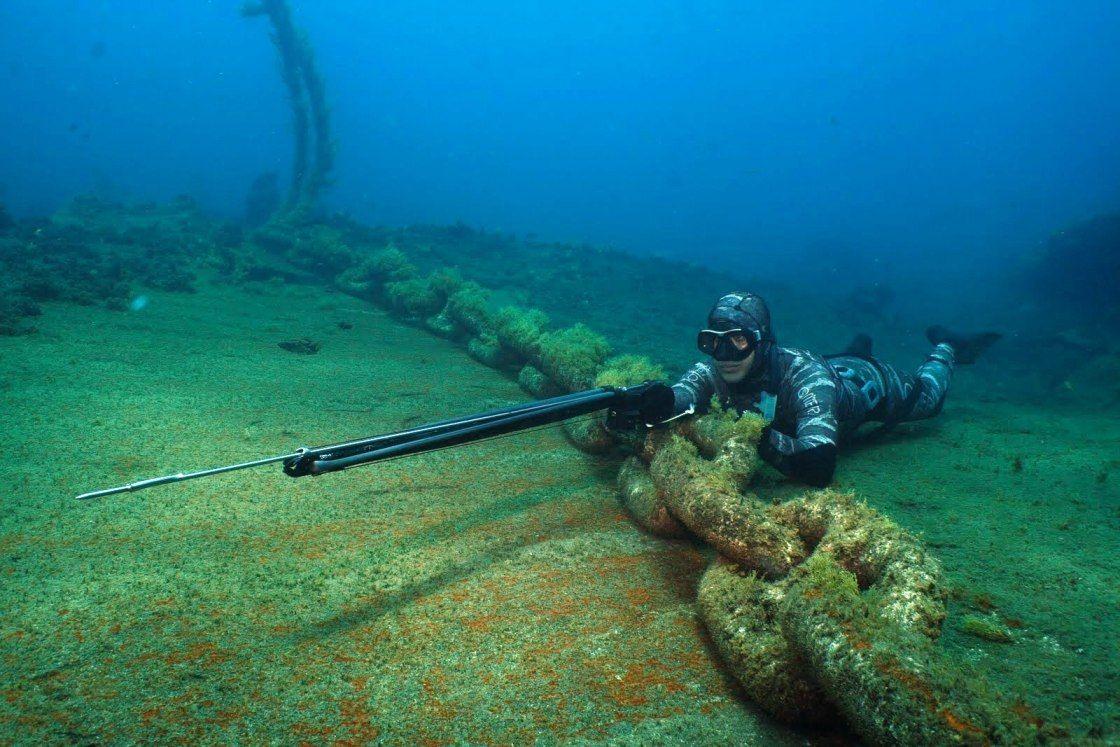 Подводная рыбалка в Крыму
