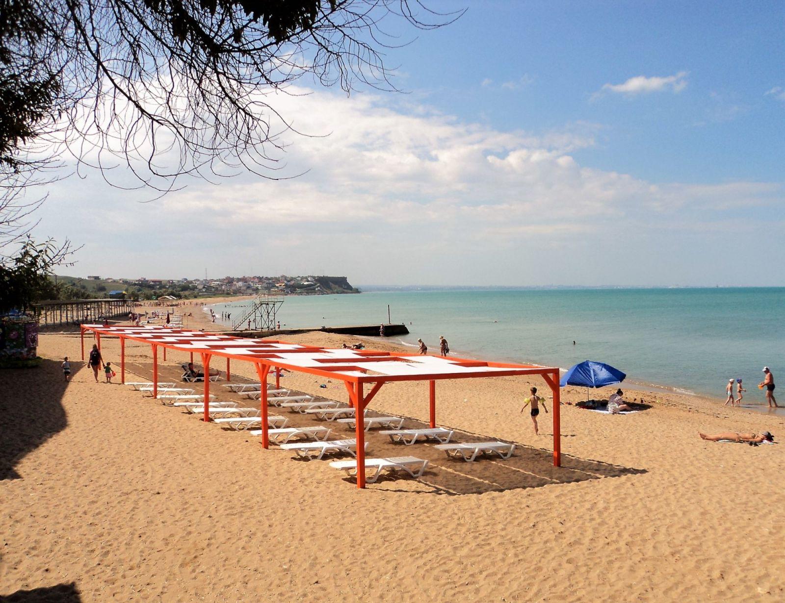 Климат и пляжи Орловки