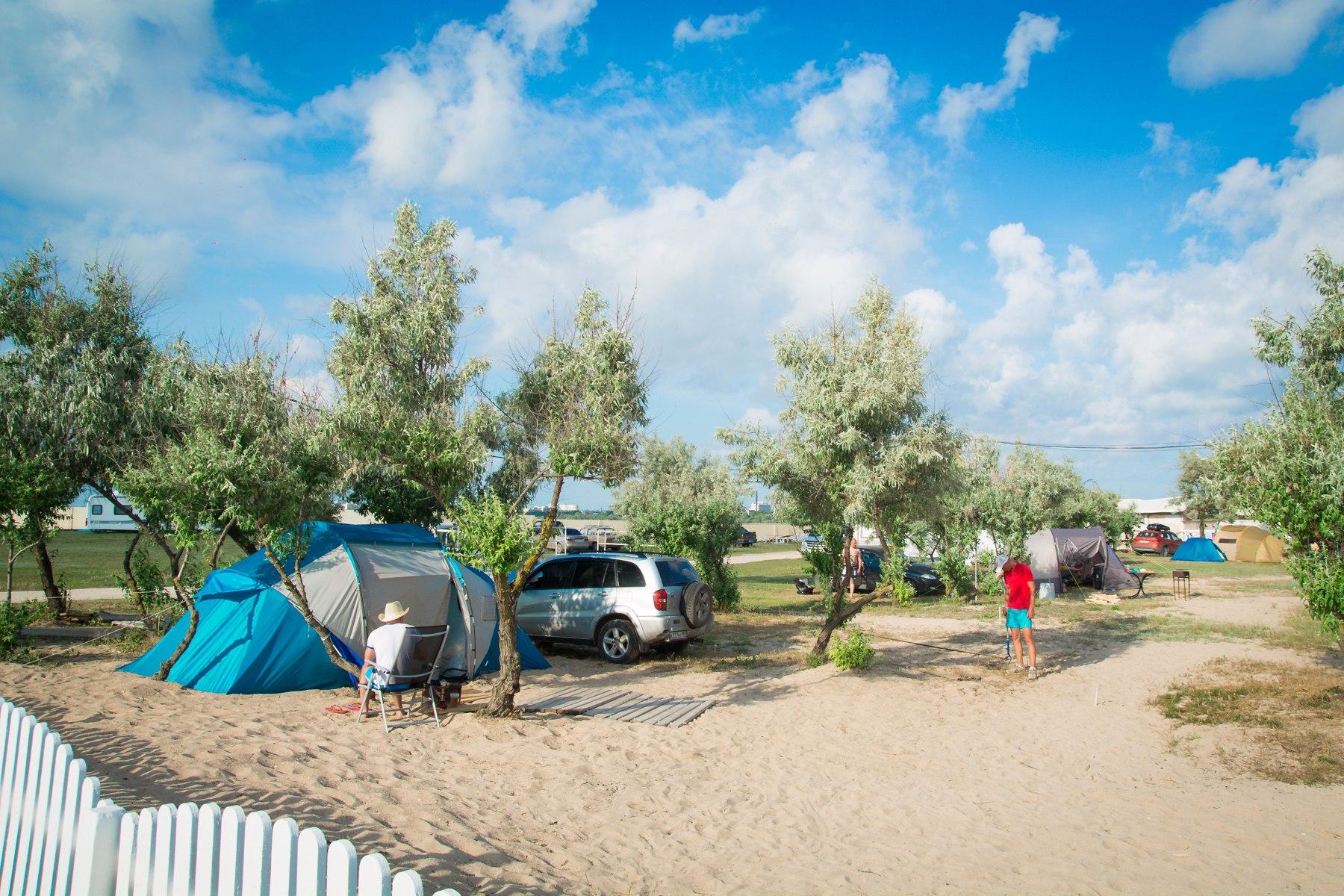 Недорогой отдых с палатками