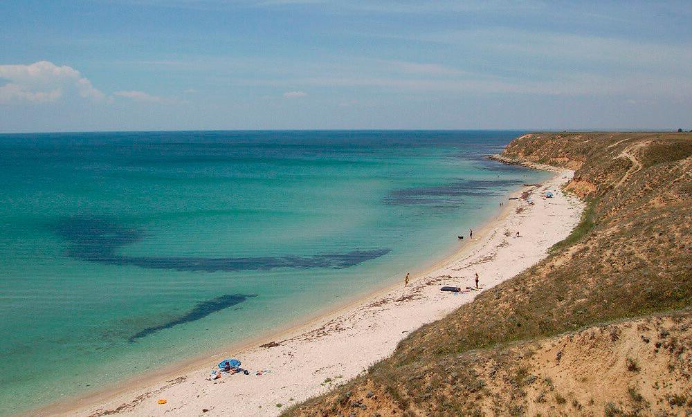 Пляжи Марьино в Крыму