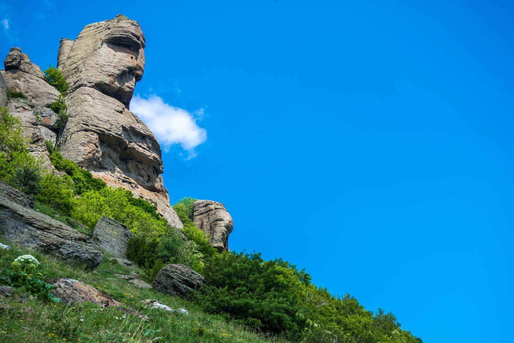 Гора Демерджи (Лучистое)