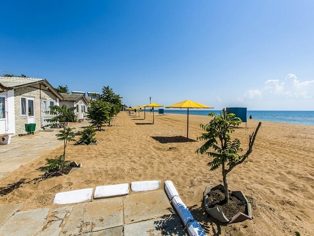 Пляжи Крыма в Береговом