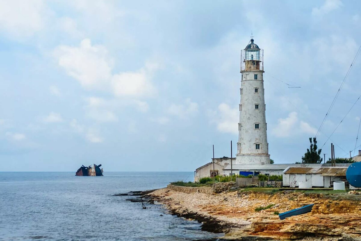 Тарханкутский маяк,