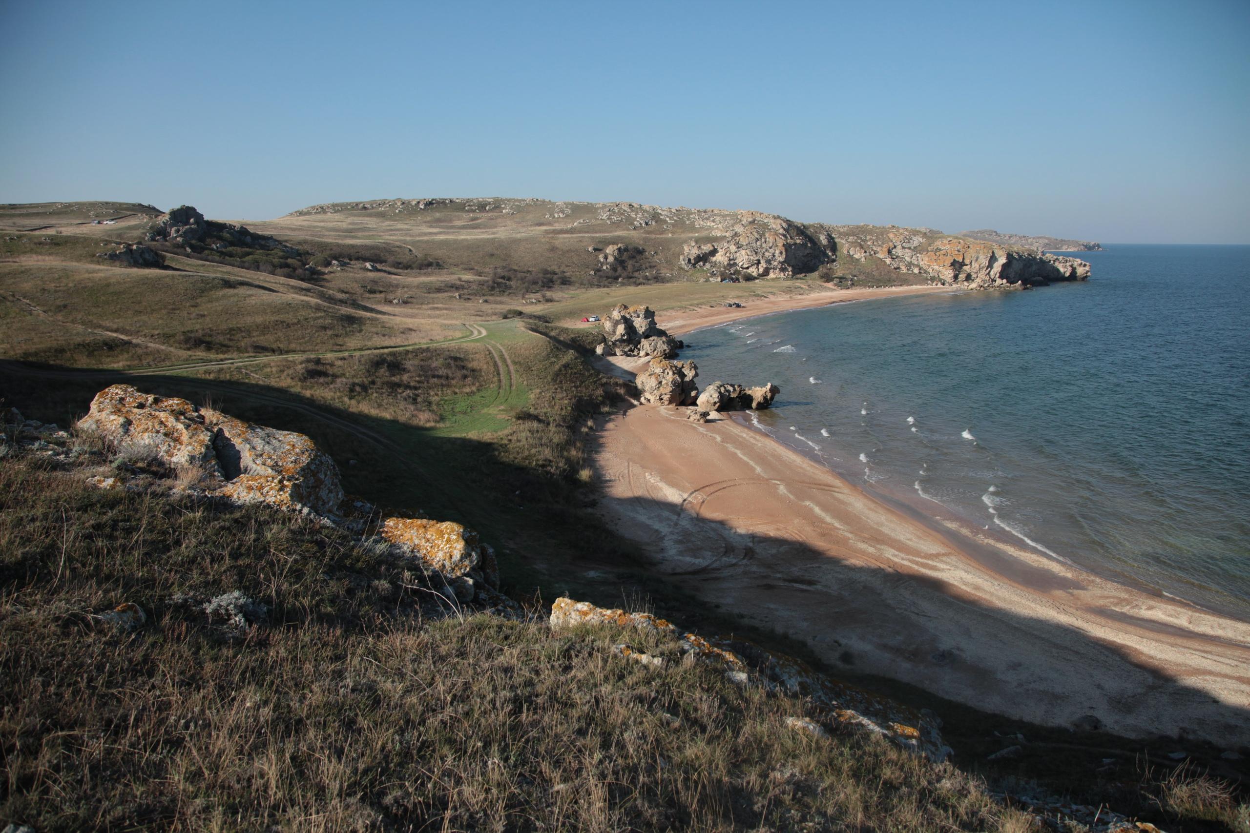 Пляжи Казантипского залива, Щелкино
