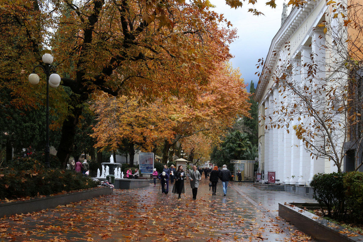 Где лучше отдохнуть в Крыму в ноябре