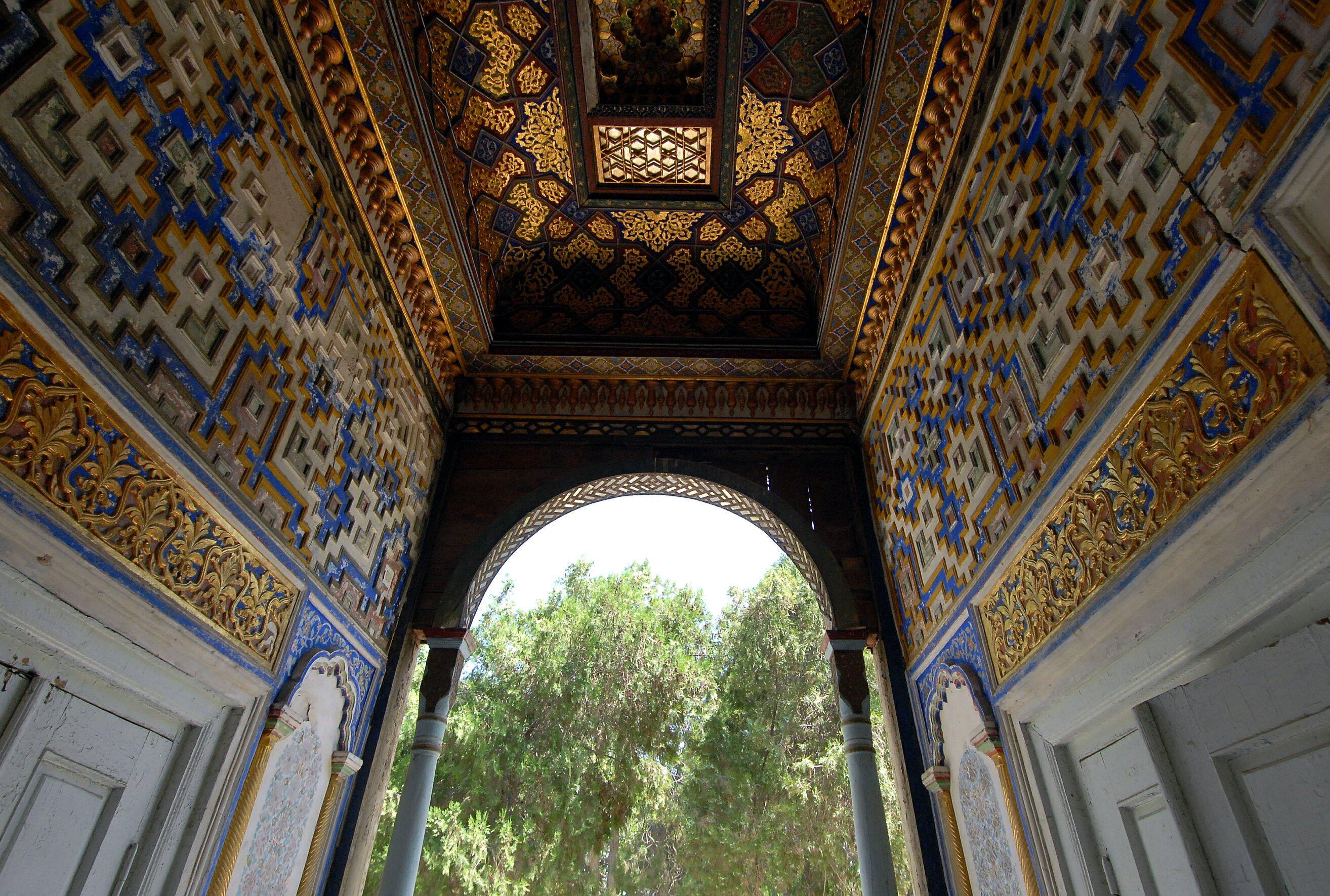 Дворец эмира Бухарского изнутри