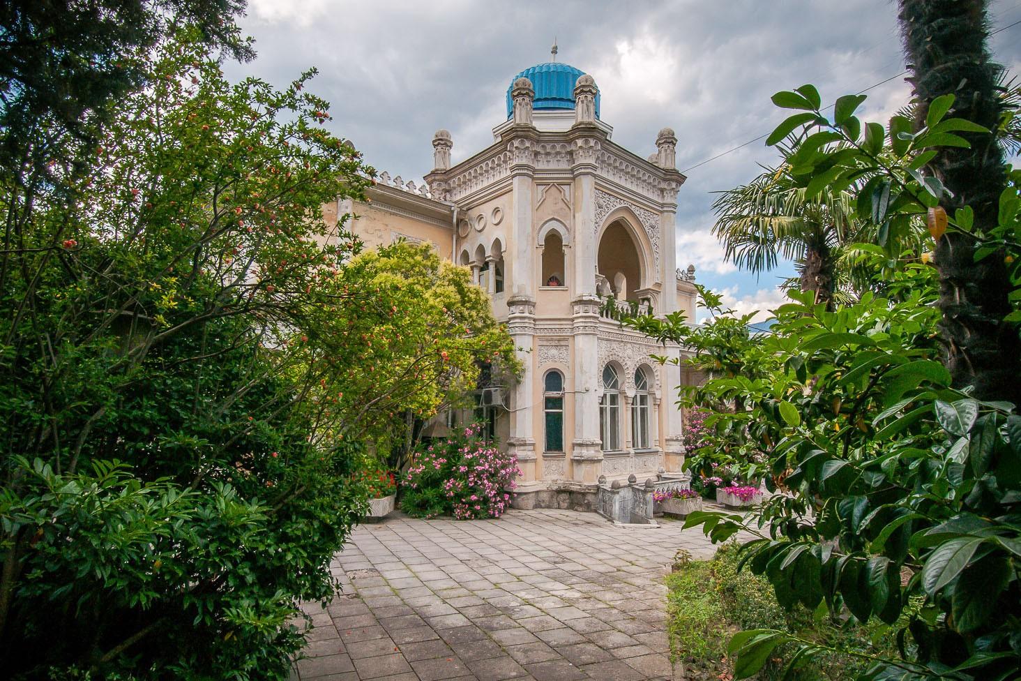 Дворец эмира Бухарского снаружи