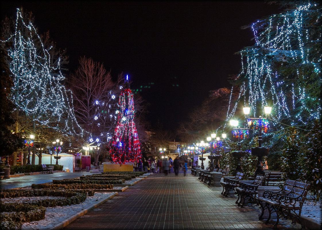 отдых на Новый 2021 год в Крыму