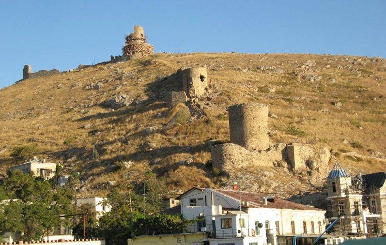 Достопримечательности Балаклавы: крепость Чембало