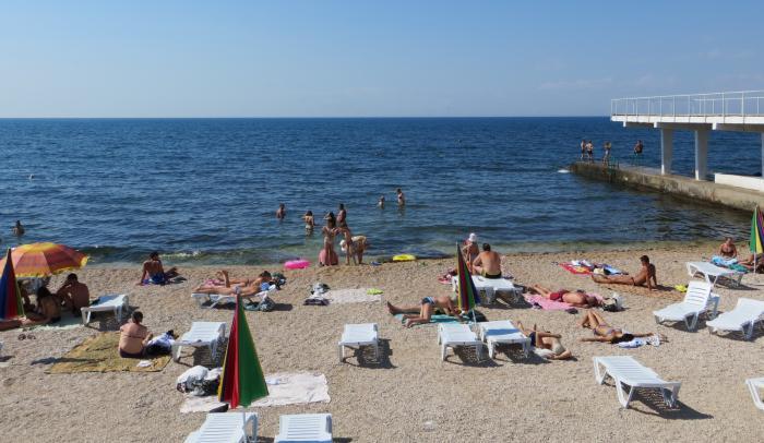 Пляжи Гагаринского района Севастополя