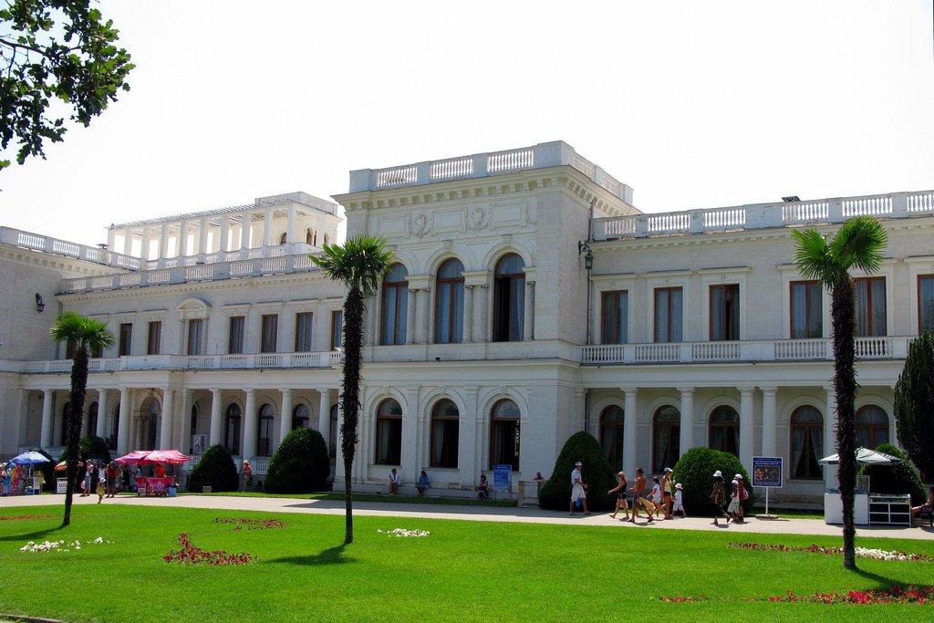 Ливадийский дворец или Белый дворец для Николая II