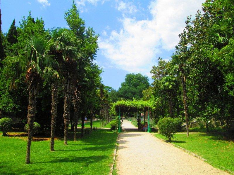 Дворцы и парки Мисхора
