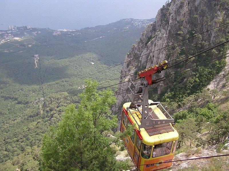 Канатная дорога на Ай-Петри