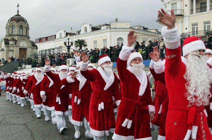 Новогодние празднования в Крыму: куда пойти и что делать