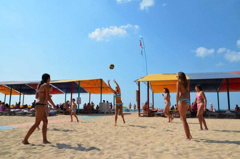 Евпатория — спортивный пляж