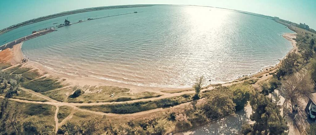 грязь Сакского озера в Крыму