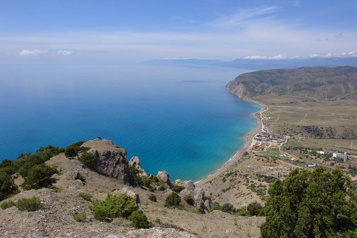 Судак — гора Сокол — Судак: по берегу Нового Света