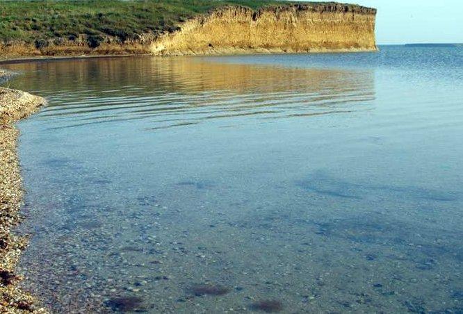 Залив Сиваш в Крыму