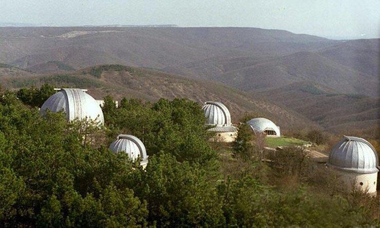 посещения крымской обсерватории