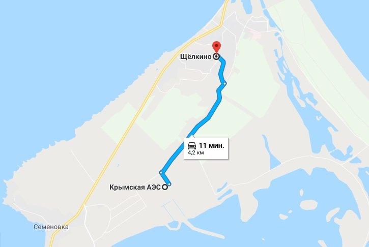 Дорога на Аес