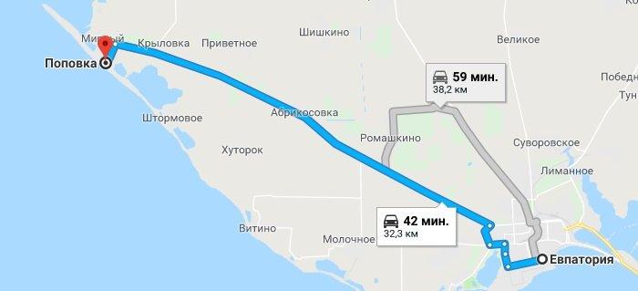 Где находится Поповка и как до нее добраться