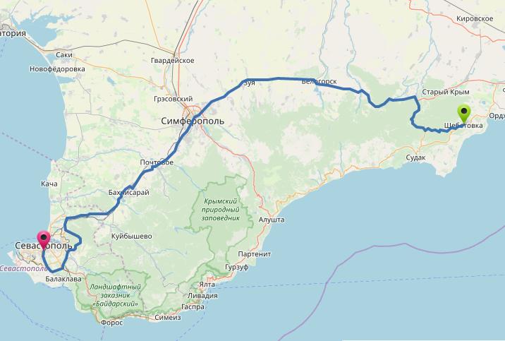 Как добраться до горы Эчки-Даг в Крыму